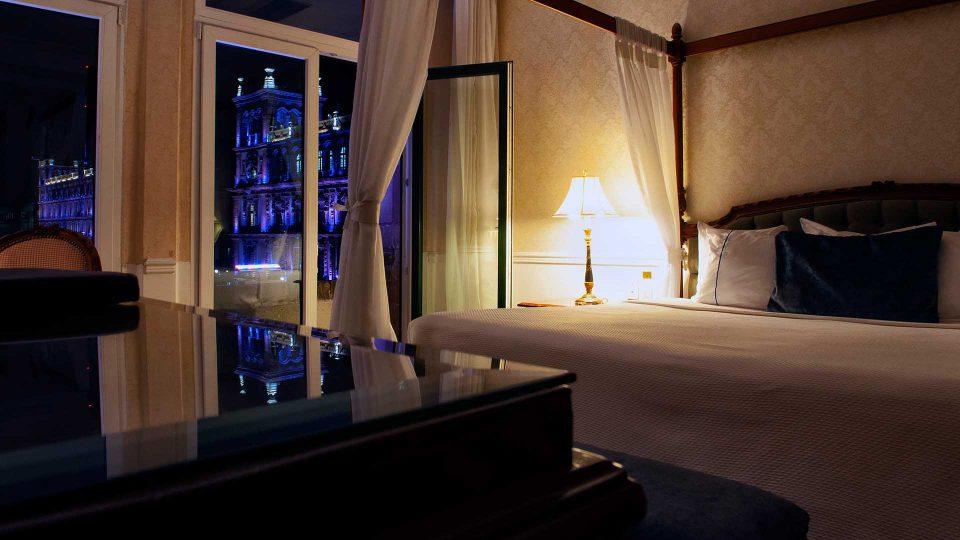 Hotel con vista al zocalo