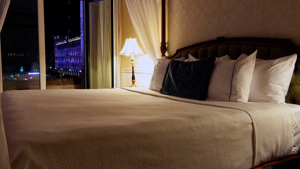 Hotel con vista al palacio nacional