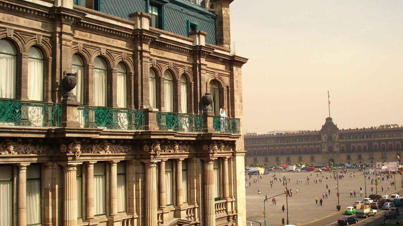 Gran Hotel vista al Zócalo