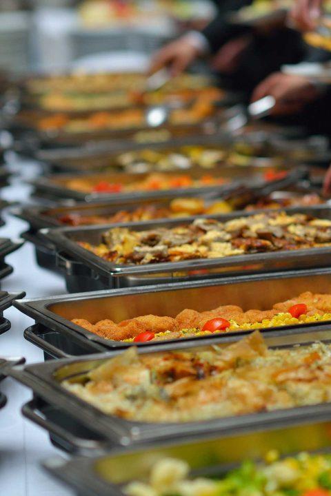 buffet emplatado