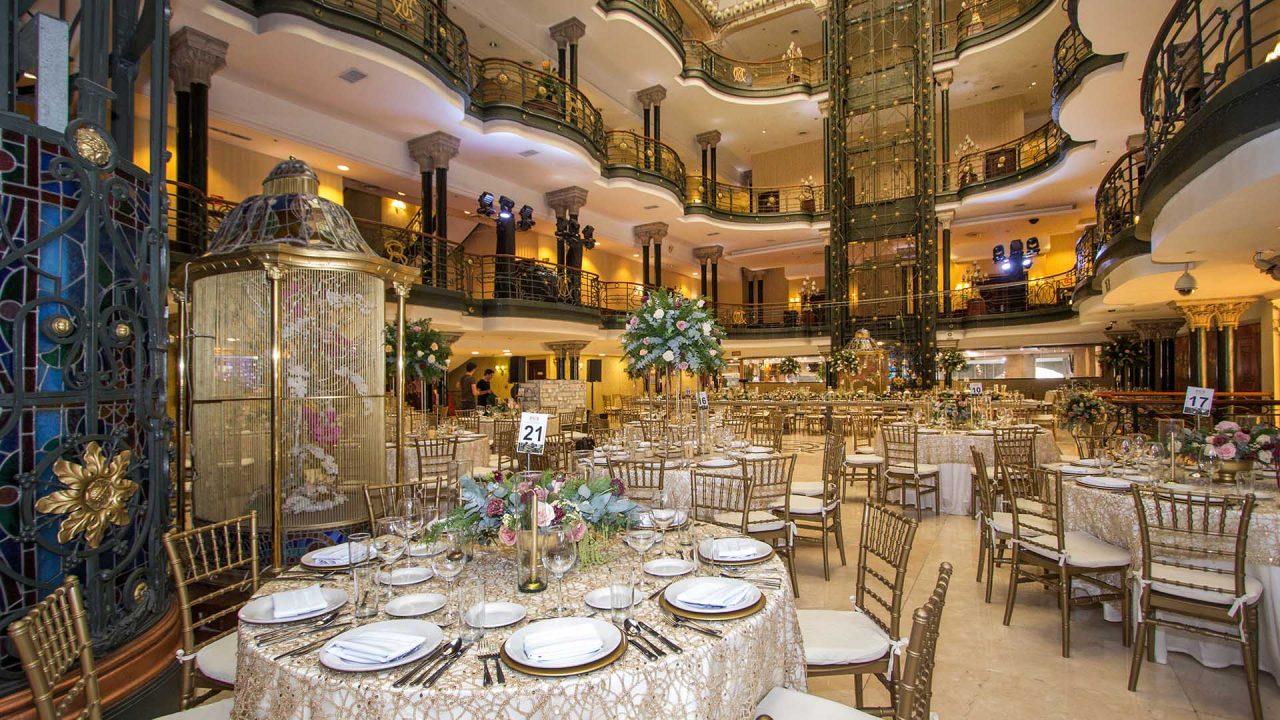 Salon de eventos Gran Hotel