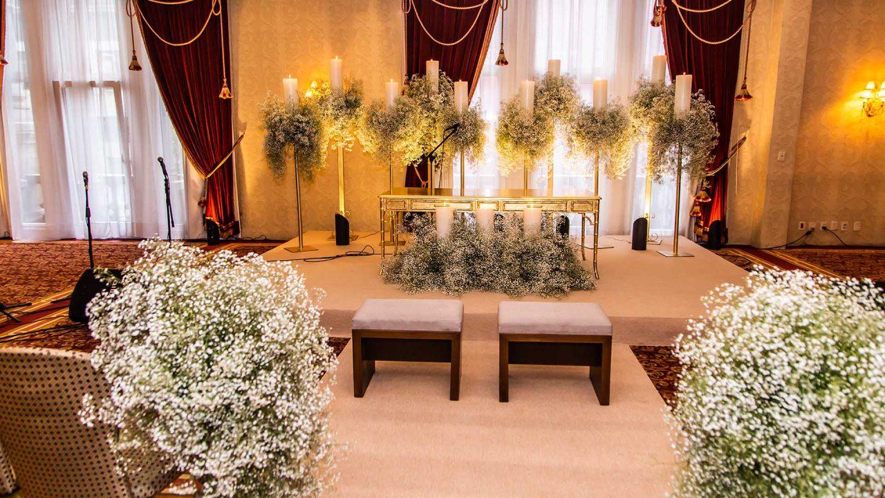 Salon para boda civil