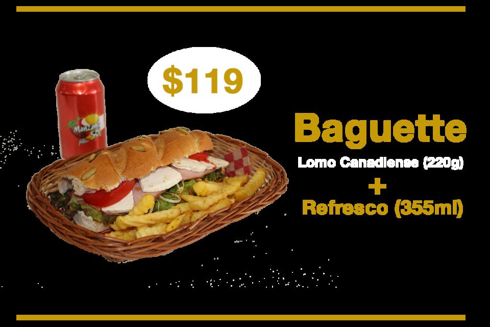 Promoción Baguette